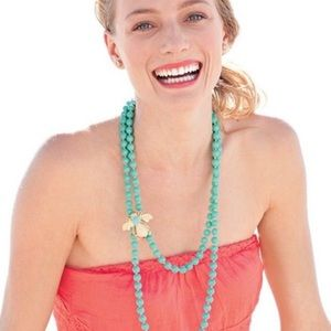 Stella & Dot Turquoise La Coco Beaded Necklace